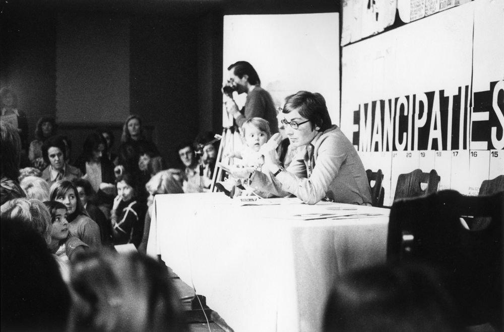 Vrouwendag in Gent, 17 november 1974 (Collectie AVG-Carhif)