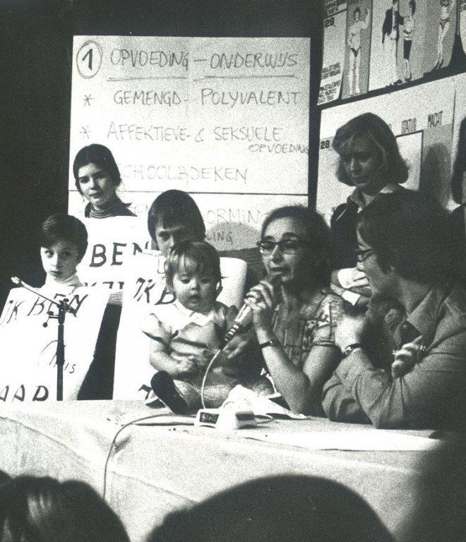 Vrouwendag in Gent, 17 november 1974 (collectie AVG-Carhif, detail)