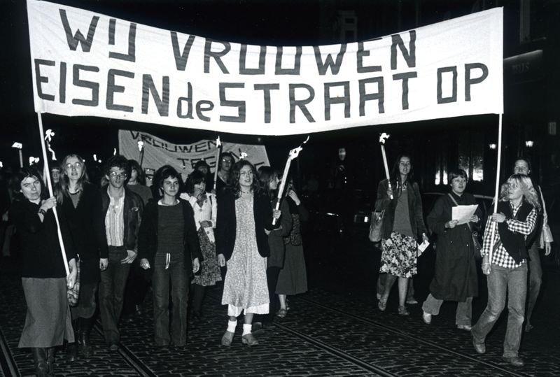 Fakkeltocht in Gent, 11 oktober 1978 (collectie Greta Craeymeersch)