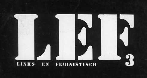 Het derde LeF-cahier, 1979 (detail van de kaft, collectie AVG-Carhif)