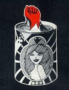 Detail uit de kaft van Le petit livre rouge des femmes, 1972 (collectie AVG-Carhif-