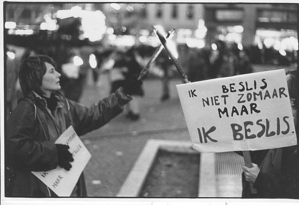 Fakkeltocht in Gent, 11 oktober 1978 (collectie AVG-Carhif)